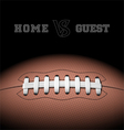 American football background vector image