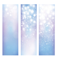 blue star banners vector image vector image