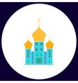 Church computer symbol vector image vector image