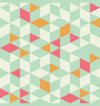 geometric triangle seamless pattern vector image
