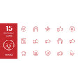 good icons vector image vector image