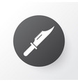 knife icon symbol premium quality isolated cutter vector image vector image