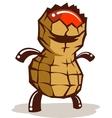 Peanut Dude vector image vector image