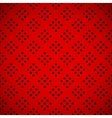 Red Background with Perforated Pattern vector image vector image