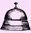 service bell vector image vector image