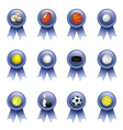 Sports Award Ribbons vector image