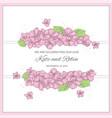 wedding wedding set for print vector image vector image