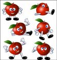 apple action vector image vector image