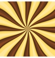 Chocolate Lollypop Candy Background with Swirling vector image