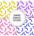 colorful summer stylish seamless pattern vector image vector image