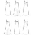 Dress vector image vector image