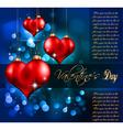 elegant valentines vector image vector image