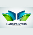 hand mouse pointer vector image vector image