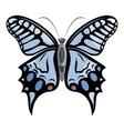 Light butterfly icon cartoon style vector image vector image
