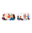 new employee welcome job interviewing hiring and vector image vector image
