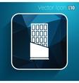 Opened chocolate bar icon logo design vector image