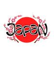 symbol japan vector image