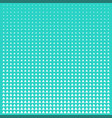 pattern green and white triangle halftone grid vector image