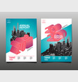 annual report 2020 future business template vector image vector image