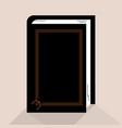 book black vector image