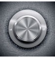Grunge Volume Knob vector image vector image