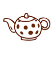 Hand Drawn Kettle vector image vector image