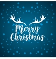 merry christmas holiday december vector image