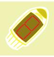 monochrome icon setwith radio tubes vector image