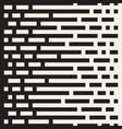 seamless irregular lines halftone black vector image vector image
