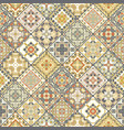 set of seamless abstract patterns vector image vector image