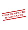 United States Standards Watermark Stamp vector image vector image