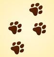 wildlife cartoon trace vector image