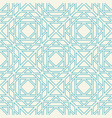 asian linear geometric pattern vector image vector image