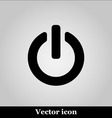 On Off switch web icon vector image vector image