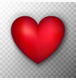 red heart transparent background vector image