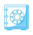 safe box icon vector image vector image