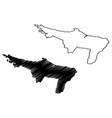 loiza municipality commonwealth puerto rico vector image vector image