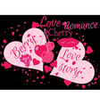 Love story Beautiful print for t-shirts and textil vector image vector image