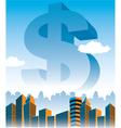 MoneyStatue vector image vector image