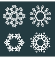 Ornamental patterns vector image vector image