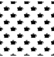 seamless texture with a cup coffee vector image