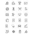 Sports Hand Drawn Doodle Icons 4 vector image vector image