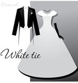 White tie vector | Price: 1 Credit (USD $1)