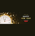 2021 happy new year sale promo banner vector image