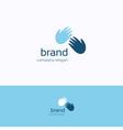 brand logo vector image