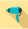 dryer icon flat style vector image vector image
