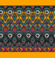 Hand drawn seamless pattern with tribal