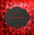 Holidays Christmas vector image vector image