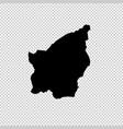 map san marino isolated vector image vector image