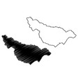 maunabo municipality commonwealth puerto rico vector image vector image